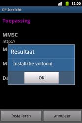 Samsung S5690 Galaxy Xcover - MMS - automatisch instellen - Stap 7