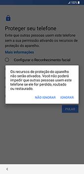 Samsung Galaxy S9 Plus - Primeiros passos - Como ativar seu aparelho - Etapa 17