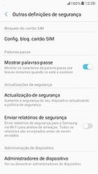 Samsung Galaxy A5 (2017) - Segurança - Como ativar o código PIN do cartão de telemóvel -  6