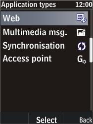 Nokia C2-05 - Internet - Manual configuration - Step 7