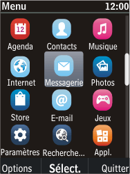 Nokia C2-05 - Messagerie vocale - Configuration manuelle - Étape 3