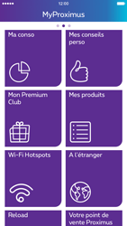 Apple iPhone 6 iOS 9 - Applications - MyProximus - Étape 14