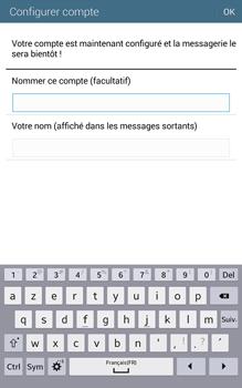 Samsung T335 Galaxy Tab 4 8-0 - E-mail - Configuration manuelle - Étape 19