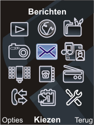 Sony Ericsson C903 - E-mail - Handmatig instellen - Stap 4