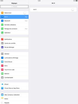 Apple iPad Pro 12.9 (1st gen) - iOS 9 - WiFi et Bluetooth - Configuration manuelle - Étape 4