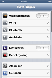 Apple iPhone 4 met iOS 6 - Wifi - handmatig instellen - Stap 3