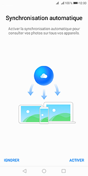 Huawei Y6 (2018) - Photos, vidéos, musique - Envoyer une photo via Bluetooth - Étape 3