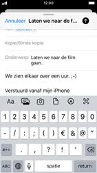 Apple iPhone SE - iOS 13 - E-mail - Bericht met attachment versturen - Stap 8
