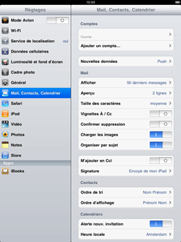 Apple iPad 2 - E-mail - Configuration manuelle - Étape 9
