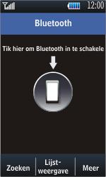 Samsung S5620 Monte - Bluetooth - headset, carkit verbinding - Stap 4