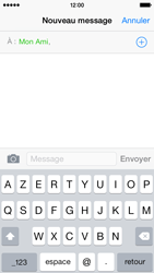 Apple iPhone 5 (iOS 8) - Contact, Appels, SMS/MMS - Envoyer un MMS - Étape 7