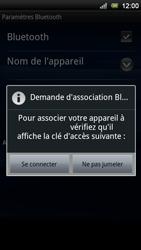 Sony Ericsson Xperia Neo V - Bluetooth - connexion Bluetooth - Étape 11