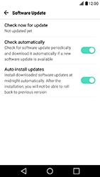 LG X Power - Network - Installing software updates - Step 9