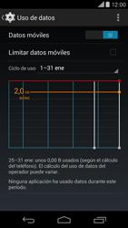 Motorola Moto X (2ª Gen) - Internet - Ver uso de datos - Paso 8