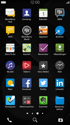 BlackBerry Leap - Applicaties - Account aanmaken - Stap 3
