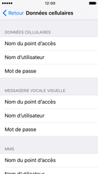 Apple iPhone 5c iOS 9 - Internet - Configuration manuelle - Étape 6