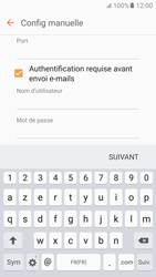 Samsung Galaxy S6 - Android M - E-mail - Configuration manuelle - Étape 11