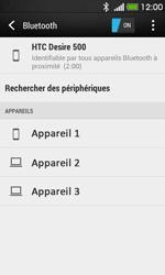 HTC Desire 500 - Bluetooth - connexion Bluetooth - Étape 8