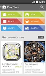 LG F70 - Applications - Télécharger une application - Étape 4