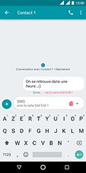 Nokia 3.1 - Contact, Appels, SMS/MMS - Envoyer un SMS - Étape 11