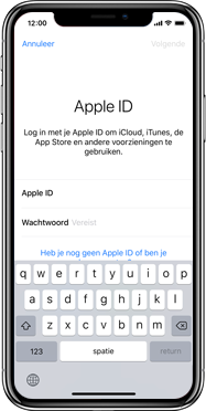 Apple iphone-xr-met-ios-12-model-a1984 - Instellingen aanpassen - Back-up maken van je iCloud-data - Stap 5