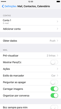 Apple iPhone 6s Plus - Email - Configurar a conta de Email -  25