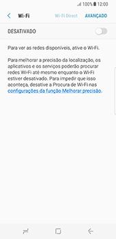 Samsung Galaxy S8 - Wi-Fi - Como configurar uma rede wi fi - Etapa 6