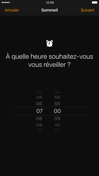 Apple Apple iPhone 7 Plus - iOS features - Coucher - Étape 5