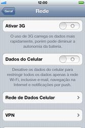 Apple iPhone iOS 5 - Internet (APN) - Como configurar a internet do seu aparelho (APN Nextel) - Etapa 5