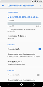 Nokia 5.1 - Internet - activer ou désactiver - Étape 6