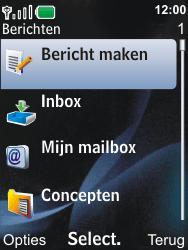 Nokia 6600i slide - E-mail - E-mails verzenden - Stap 4