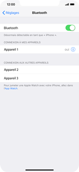 Apple iPhone XR - Bluetooth - connexion Bluetooth - Étape 8