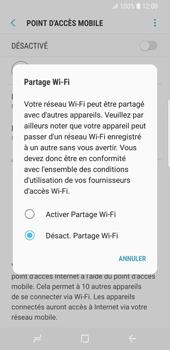 Samsung Galaxy S9 - Internet et connexion - Partager votre connexion en Wi-Fi - Étape 7