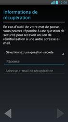 LG Optimus F6 - Premiers pas - Créer un compte - Étape 14