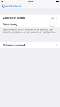 Apple Apple iPhone 6s Plus iOS 11 - Netwerk - Wijzig netwerkmodus - Stap 5
