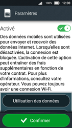 Doro 8031 - Internet et connexion - Désactiver la connexion Internet - Étape 6
