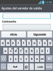 LG Optimus L3 II - E-mail - Configurar correo electrónico - Paso 17