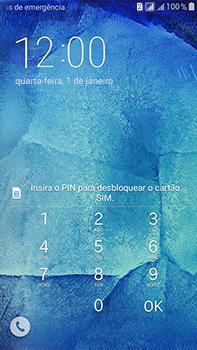 Samsung Galaxy J7 - Funções básicas - Como reiniciar o aparelho - Etapa 5