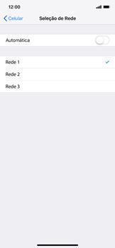 Apple iPhone XR - Rede móvel - Como selecionar o tipo de rede adequada - Etapa 7