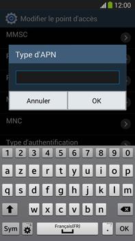 Samsung N9005 Galaxy Note III LTE - Internet - Configuration manuelle - Étape 13