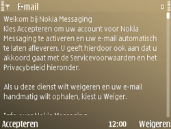 Nokia E72 - E-mail - handmatig instellen - Stap 11