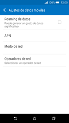 HTC One M9 - Red - Seleccionar una red - Paso 5