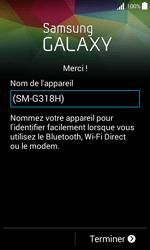 Samsung Galaxy Trend 2 Lite - Premiers pas - Créer un compte - Étape 26