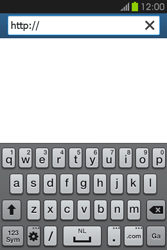 Samsung S6810P Galaxy Fame - Internet - Hoe te internetten - Stap 4