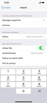 Apple iPhone XR - E-mail - Configuration manuelle - Étape 26