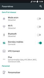 HTC 10 - Android Nougat - Wi-Fi - Se connecter à un réseau Wi-Fi - Étape 4