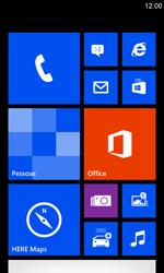 Nokia Lumia 920 - Rede móvel - Como ativar e desativar o modo avião no seu aparelho - Etapa 1
