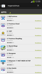 Samsung I9300 Galaxy S III - Applicaties - MyProximus - Stap 7