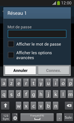 Samsung Galaxy S3 Lite (I8200) - Wifi - configuration manuelle - Étape 6