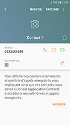 Samsung Galaxy J3 (2017) - Contact, Appels, SMS/MMS - Ajouter un contact - Étape 9